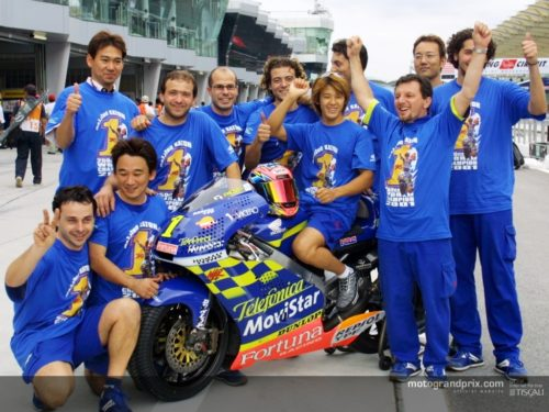 World Champion 250cc 2001